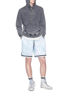 John Elliott Tie-dye basketball shorts