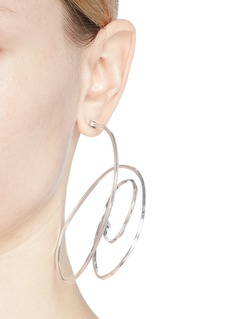 Balenciaga ''Elastic' single hoop earring
