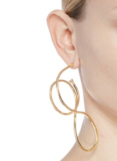 Balenciaga ''Elastic' hoop earrings