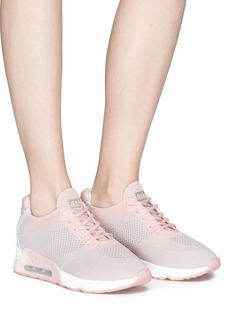 Ash 'Lucky' eyelet knit sneakers