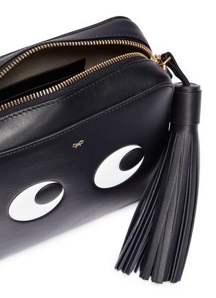 Detail View - Click To Enlarge - Anya Hindmarch - 'Eyes' embossed crossbody bag