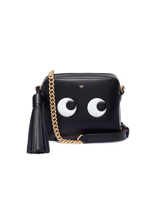 Main View - Click To Enlarge - Anya Hindmarch - 'Eyes' embossed crossbody bag
