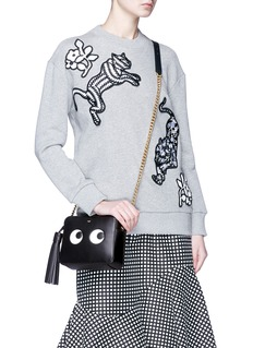 Anya Hindmarch 'Eyes' embossed crossbody bag