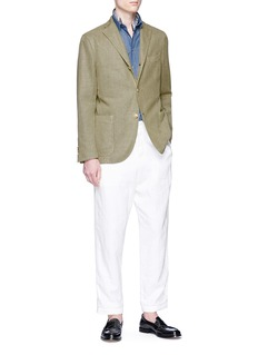 Boglioli 'K Jacket' basketweave soft blazer