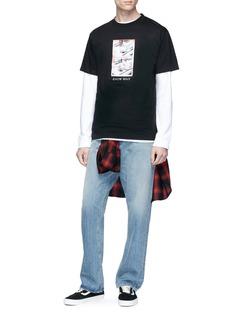 Know Wave 'Black Jack' print T-shirt