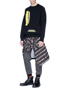 Sacai 'Uniform' print sweatshirt