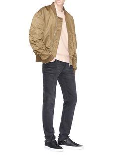 rag & bone 'Racer' raglan sleeve sweatshirt
