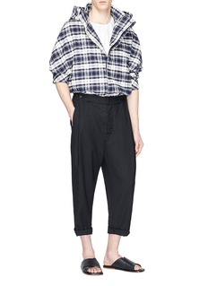 FFIXXED STUDIOS Pleated straight leg pants