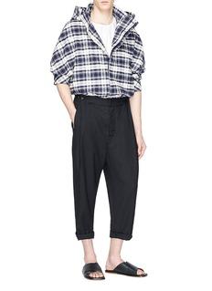 FFIXXED STUDIOS 纯色低裆长裤