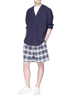 FFIXXED STUDIOS Viktor格纹短裤