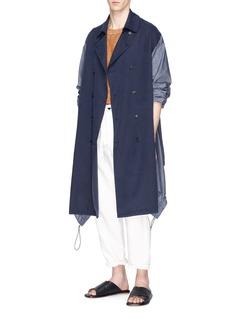 FFIXXED STUDIOS 仿内层外翻设计纯棉针织衫