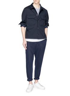 FFIXXED STUDIOS Daniel条纹双层纯棉上衣