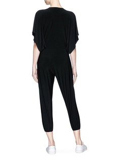 Norma Kamali 'Rectangle Jog' jumpsuit