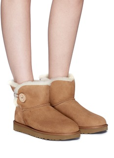 Ugg Australia 'Mini Bailey Button II' ankle boots