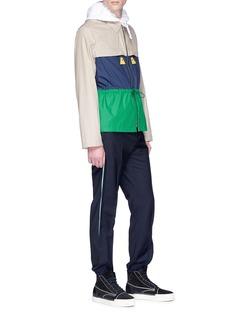 KENZO 'Hyper KENZO' colourblock shirt jacket