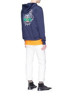 KENZO 'Tiger' embroidered zip hoodie