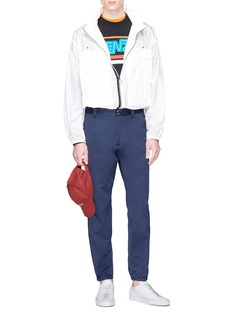 KENZO Contrast outseam twill baseball pants