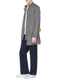 GEYM Knit stripe shirt