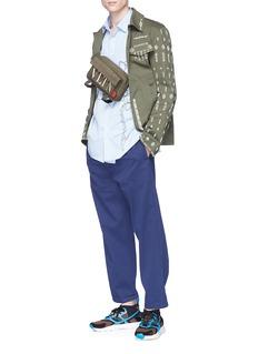 Valentino Beaded twill field jacket