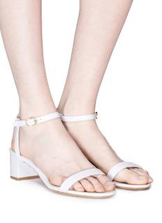 Mansur Gavriel Ankle strap leather sandals