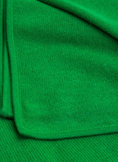 OYUNA DAYA cashmere throw – Emerald