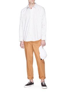 Maison Kitsuné Patch pocket worker pants
