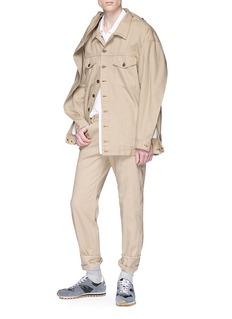 Y/Project Shoulder panel denim jacket