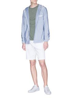 James Perse Cotton blend henley T-shirt