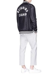 Reigning Champ Logo appliqué souvenir jacket