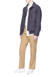 nanamica Contrast pocket canvas pants