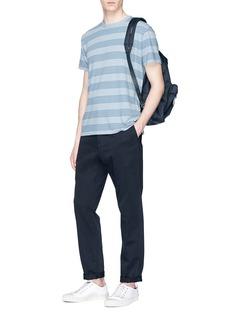nanamica Stripe knit T-shirt