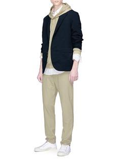 nanamica Contrast hood ALPHADRY® hoodie