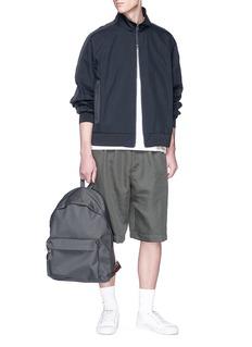 nanamica Stripe sleeve COOLMAX® bomber jacket