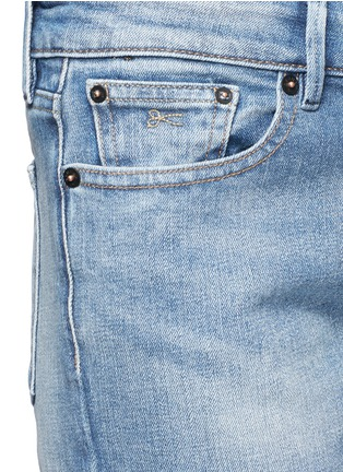 Detail View - Click To Enlarge - Denham - 'Monroe' acid wash boyfriend jeans