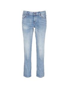 Denham'Monroe' acid wash boyfriend jeans