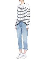 'Monroe' acid wash boyfriend jeans