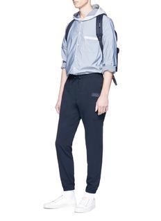 nanamica Contrast hood 'COOLMAX® shirt jacket