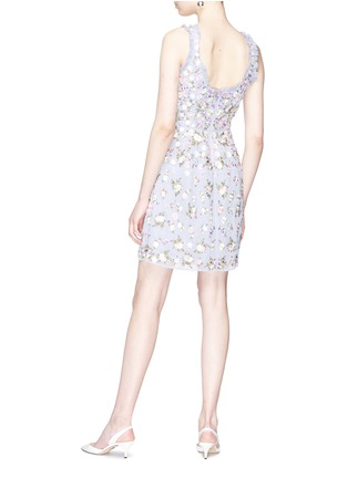 Figure View - Click To Enlarge - Needle & Thread - 'Prism Ditsy' floral embroidered dress