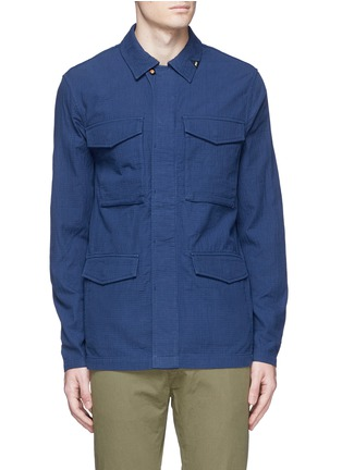 Denham - 'James' cotton dobby field jacket