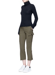 Alexander McQueen Stretch wool military pants