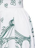 Victorian Garden print twill shorts
