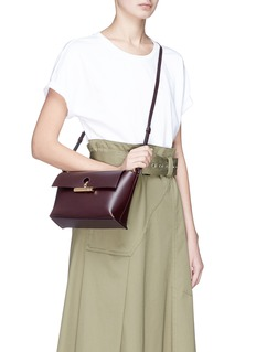 Sophie Hulme 'The Pinch' leather crossbody bag