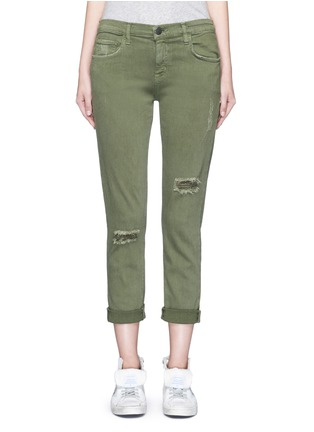 Current/Elliott - 'The Fling' distressed stretch pants