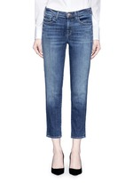 'Sadey Slim Straight' cropped jeans
