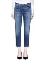 'Sadey Slim Straight' cropped jeans