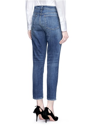 Back View - Click To Enlarge - J Brand - 'Sadey Slim Straight' cropped jeans