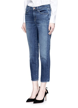 Front View - Click To Enlarge - J Brand - 'Sadey Slim Straight' cropped jeans