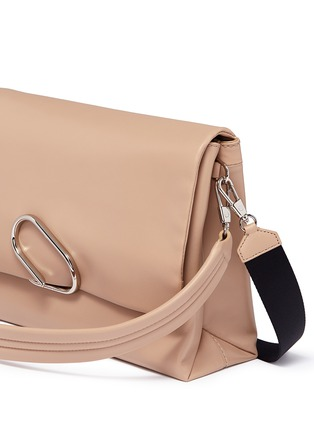 - 3.1 Phillip Lim - 'Alix' paperclip flap oversized leather crossbody bag
