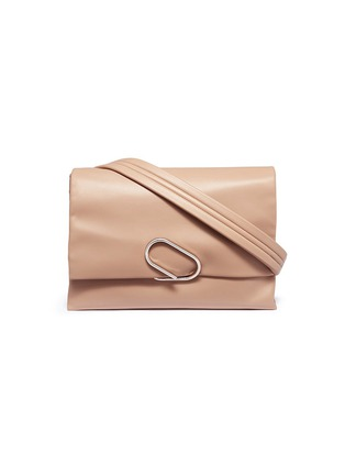Main View - Click To Enlarge - 3.1 Phillip Lim - 'Alix' paperclip flap oversized leather crossbody bag