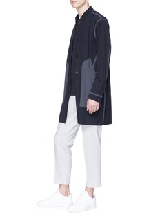 Isaora 'Ultrasonic' reversible mac coat